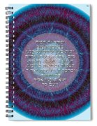 Hebrew Home Blessing Spiral Notebook