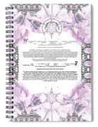 Interfaith Or Reformed Ketubah To Fill Spiral Notebook