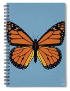 74- Monarch Butterfly Spiral Notebook