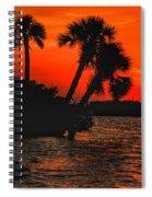 75 Island Sunset Spiral Notebook