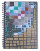 #767 Absttract Drawing Spiral Notebook