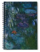 Water Lilies Spiral Notebook