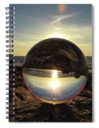 8-25-16--5717 Don't Drop The Crystal Ball, Crystal Ball Photography Spiral Notebook