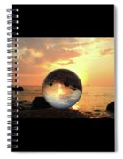 8-26-16--5927 Don't Drop The Crystal Ball, Crystal Ball Photography Spiral Notebook