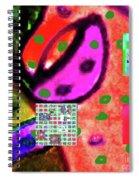 8-3-2015cabcdefghijklmnopqrtuvwxyzabcdefghi Spiral Notebook