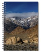 Alabama Hills, Ca Spiral Notebook