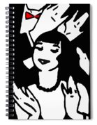 Art Deco Image Spiral Notebook