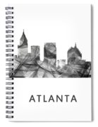 Atlanta Georgia Skyline Spiral Notebook