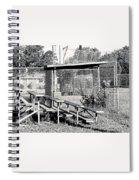 8 Bw George Washington High School Spiral Notebook