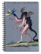 Demonology, 18th Century Spiral Notebook