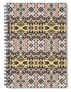 Polynesian Repeat Spiral Notebook