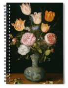 Flower Vase Spiral Notebook