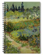 Garden At Arles Spiral Notebook