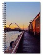 Glasgow, Scotland Spiral Notebook