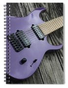 Guitar Spiral Notebook
