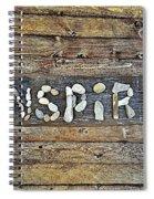 Inspiring Rock Art Spiral Notebook