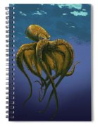 8 Legs Of The Sea Spiral Notebook