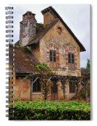 Marie - Antoinette's Estate Palace Of Versailles - Paris Spiral Notebook
