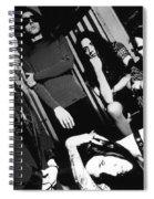 Marilyn Manson Spiral Notebook