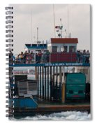 On The Way To Isla Muheres Spiral Notebook