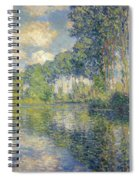 Poplars, On The Epte Spiral Notebook