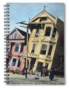 San Francisco Earthquake Spiral Notebook
