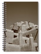 Santa Fe - Adobe Building Spiral Notebook