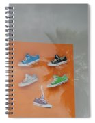 8 Sneakers Spiral Notebook