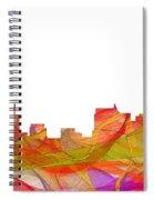 Springfield Illinois Skyline Spiral Notebook