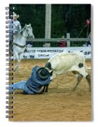 Steer Roping Spiral Notebook