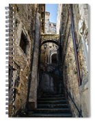 Walking Through The Streets Of Pretoro - Italy  Spiral Notebook