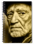 Willie Nelson Collection Spiral Notebook