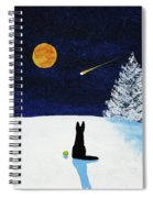 Winter Star Spiral Notebook