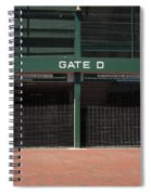 Wrigley Field - Chicago Cubs Spiral Notebook