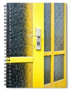 Yellow Door Spiral Notebook