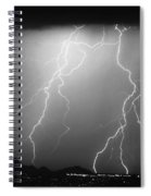 85255 Black And White Spiral Notebook