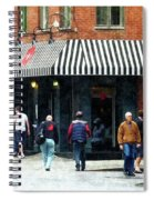 8th Ave. And W 22nd Street Chelsea Spiral Notebook