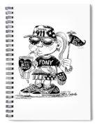 9/11 Commercialization Spiral Notebook