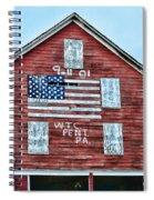 9 11 Tribute Spiral Notebook
