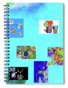 9-6-2015habcde Spiral Notebook