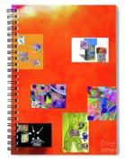 9-6-2015habcdefghijklmnopqrtuvw Spiral Notebook