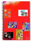 9-6-2015habcdefghijklmnopqrtuvwxy Spiral Notebook
