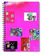9-6-2015habcdefghijklmnopqrtuvwxyzabc Spiral Notebook