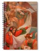 Angels Descending Spiral Notebook