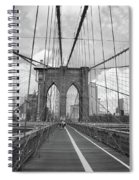 Brooklyn Bridge - New York City Spiral Notebook
