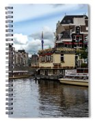 Canals Of Amsterdam Spiral Notebook