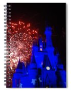 Cinderella Castle Spiral Notebook