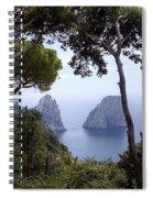 Faraglioni - Capri Spiral Notebook