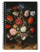 Flower Vase Spiral Notebook