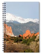 Garden Of The Gods And Pikes Peak Spiral Notebook